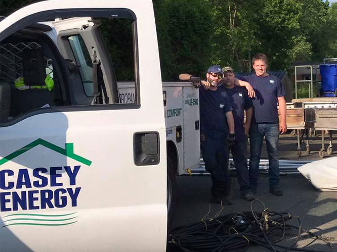 Casey Energy Truck